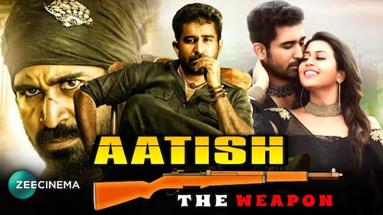 Aatish The Weapon 2020 Hindi Dubbed 720p HDRip 950mb