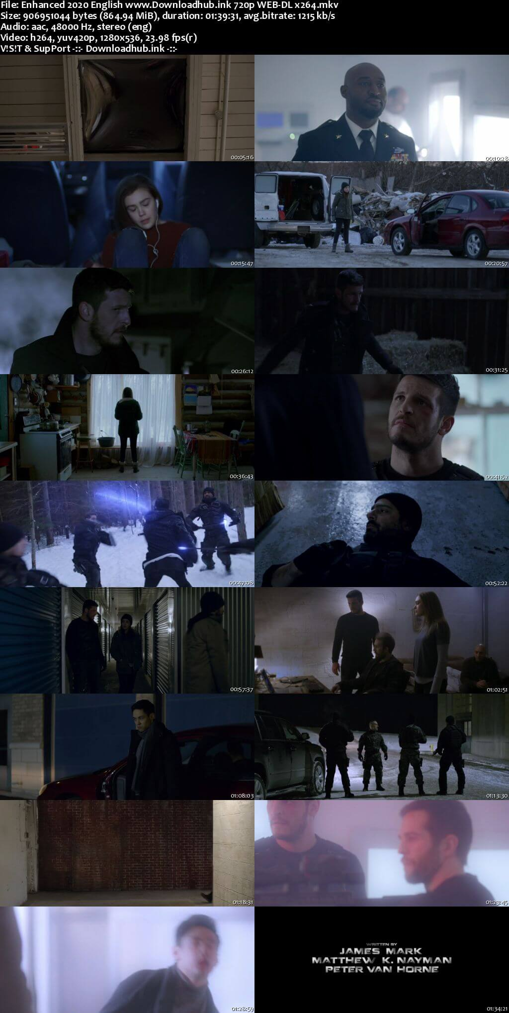 Enhanced 2019 English 720p Web-DL 850MB