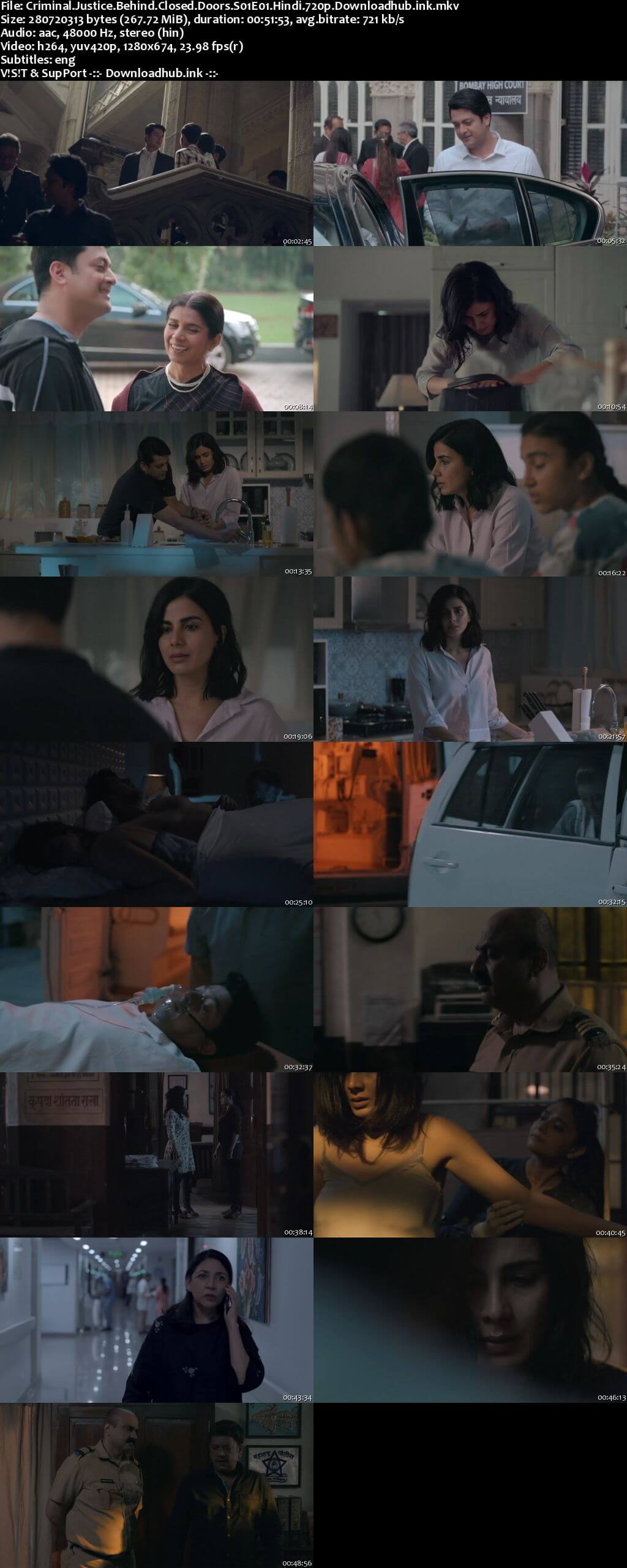 Criminal Justice Behind Closed Doors 2020 Hindi Season 01 Complete 720p HDRip ESubs
