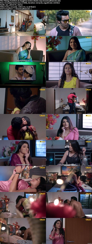 Palang Tod (Mom & Daughter) 2020 Hindi S01 ULLU WEB Series 720p HDRip x264