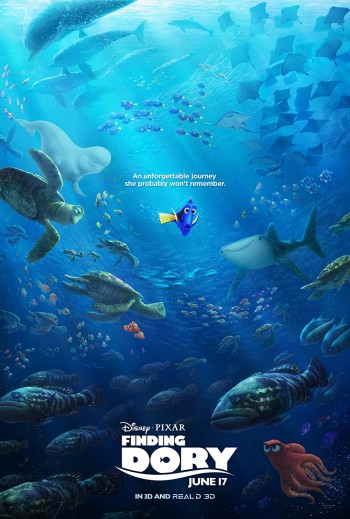 Finding Dory 2016 Dual Audio Hindi English Web-DL 720p 480p Movie Download