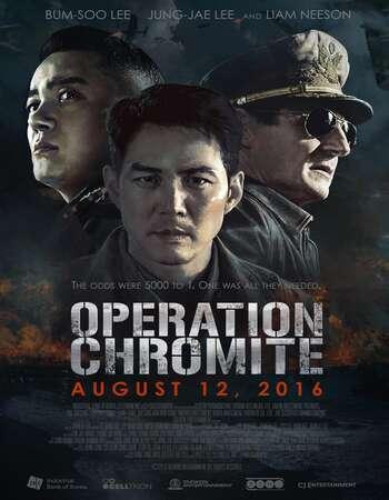 Operation Chromite 2016 Hindi Dual Audio BRRip Full Movie 720p HEVC Download