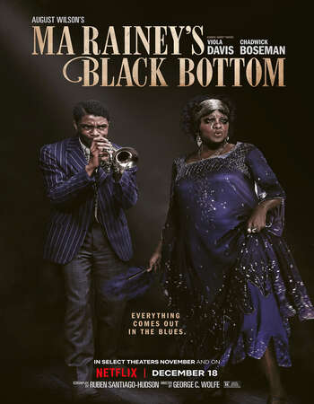 Ma Raineys Black Bottom 2020 English 720p Web-DL 750MB ESubs