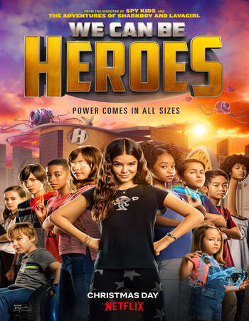 We Can Be Heroes 2020 Hindi Dual Audio 550MB Web-DL 720p MSubs HEVC