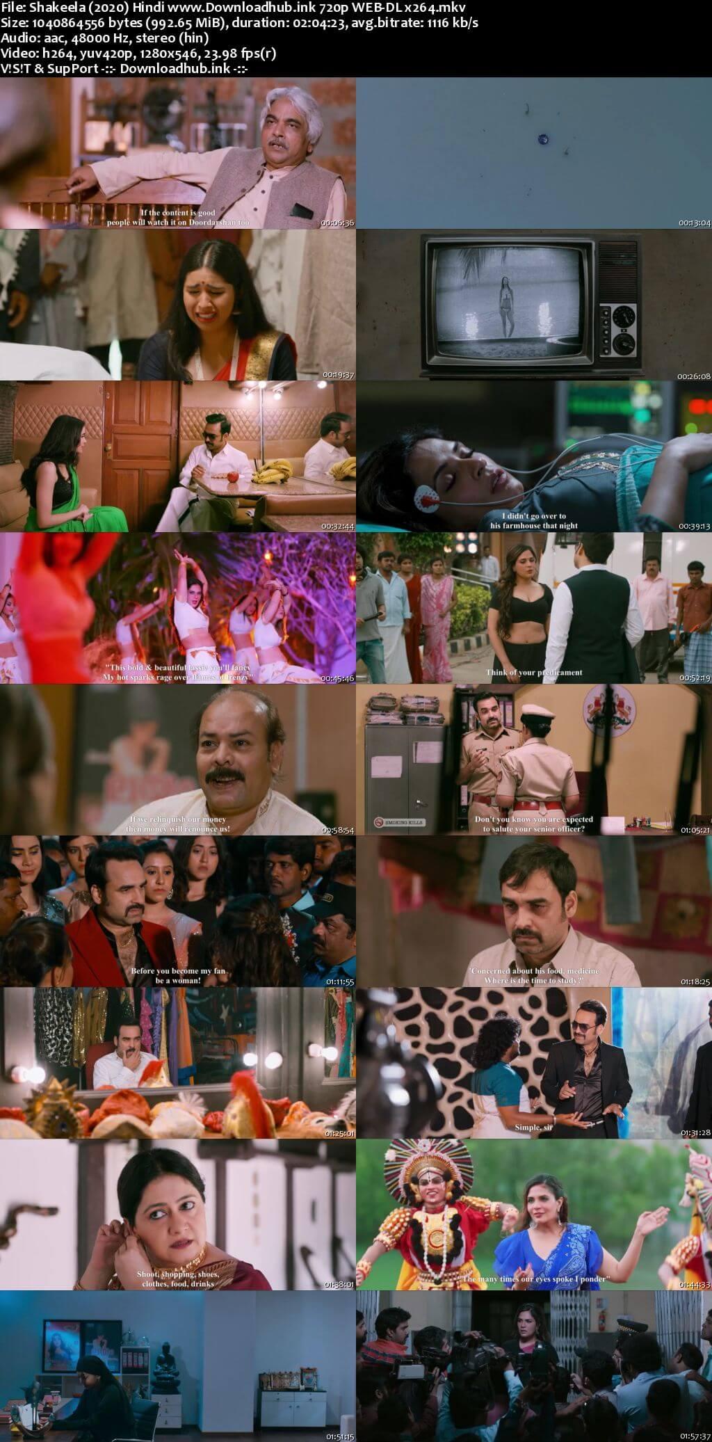 Shakeela 2020 Hindi 720p HDRip x264