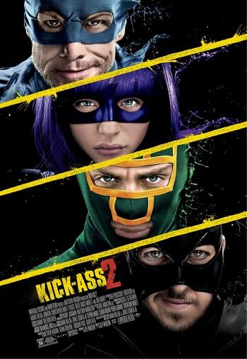 Kick-Ass 2 2013 Dual Audio Hindi English BRRip 720p 480p Movie Download
