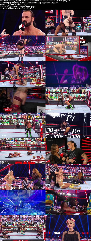 WWE Monday Night Raw 28th December 2020 720p 500MB HDTVRip 480p