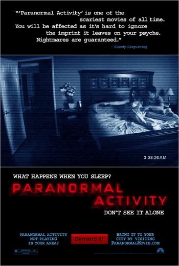 Paranormal Activity 2007 Dual Audio Hindi English BRRip 720p 480p Movie Download