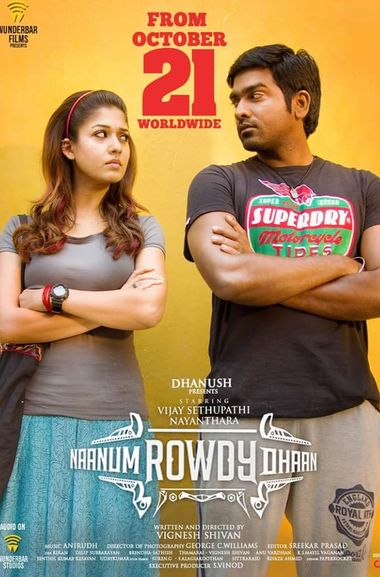 Naanum Rowdy Thaan 2015 Hindi Dual Audio 720p UNCUT HDRip ESubs
