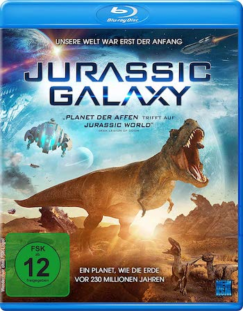 Jurassic Galaxy 2018 Dual Audio Hindi 480p BluRay 250mb