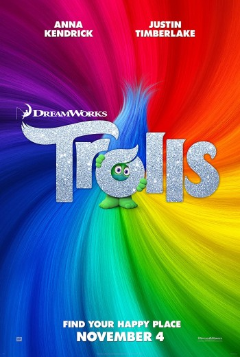 Trolls 2016 Dual Audio Hindi English BRRip 720p 480p Movie Download