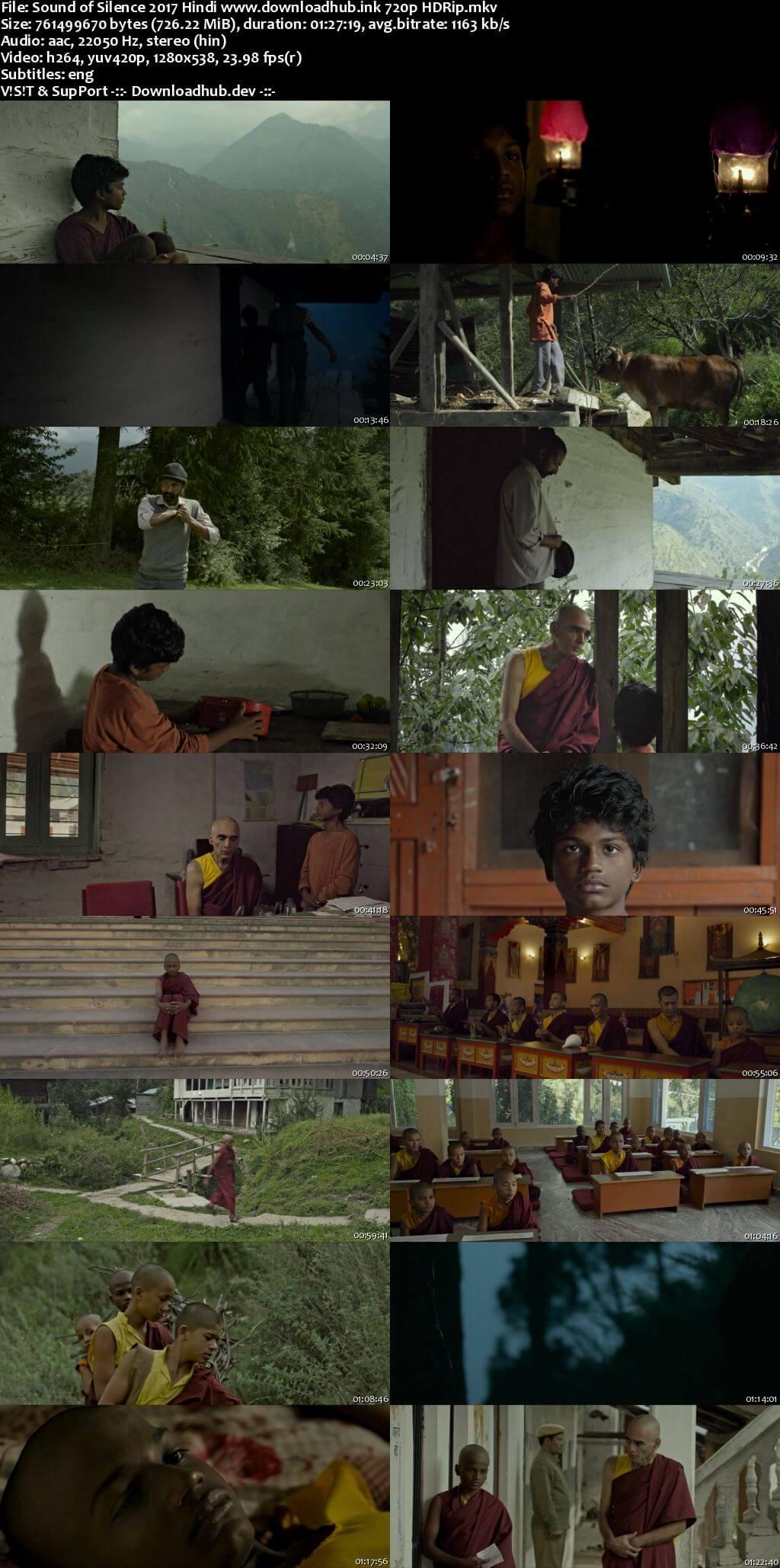 Sound of Silence 2017 Hindi 720p HDRip ESubs
