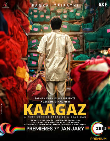Kaagaz 2021 Hindi 720p HDRip x264