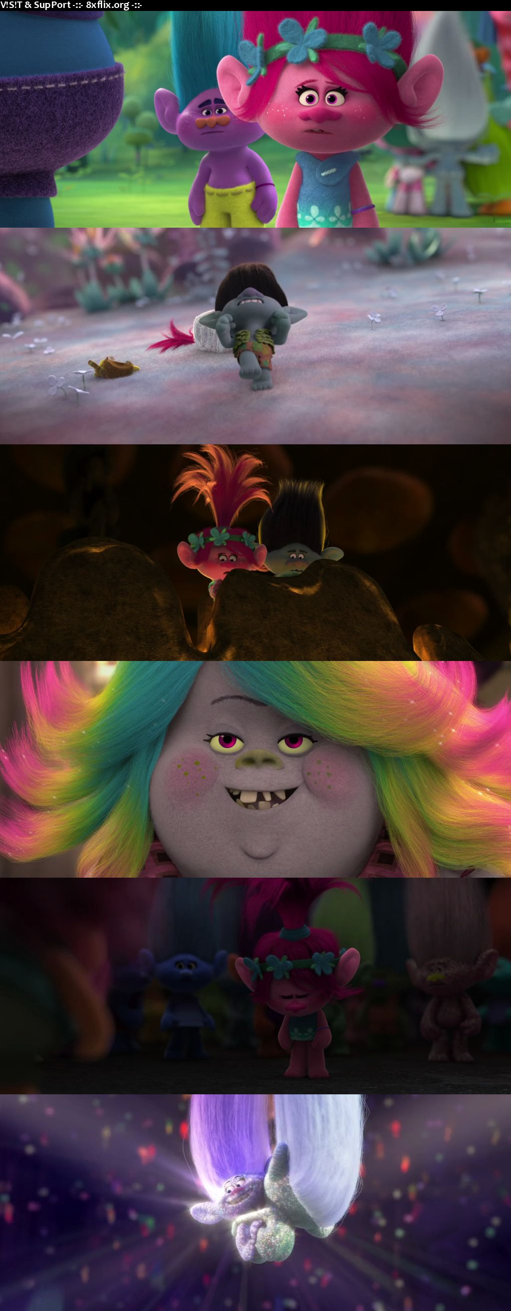 Trolls 2016 Hindi English Dual Audio 720p 480p BluRay
