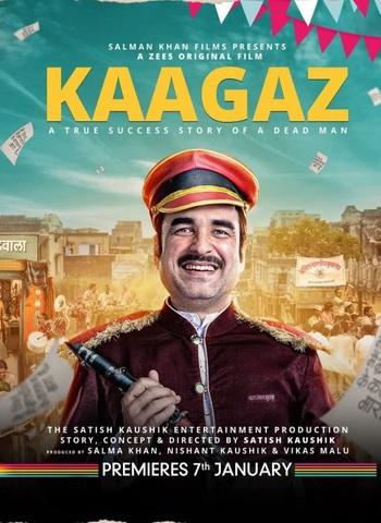Kaagaz 2021 Zee5 Hindi 480p HDRip x264 350MB ESubs