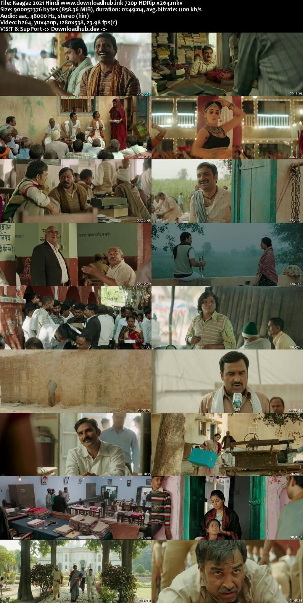 Kaagaz 2021 Hindi 720p HDRip x264