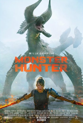 Monster Hunter 2020 Dual Audio Hindi 720p HDCAM 900mb