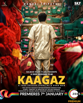 Kaagaz 2021 Hindi 480p WEB-DL 350MB