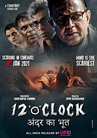 12 O' Clock 2021 Hindi 480p HQ DvDSCr x264 400MB