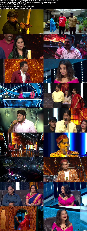 Indian Idol 09 January 2021 Episode 13 Web-DL 480p