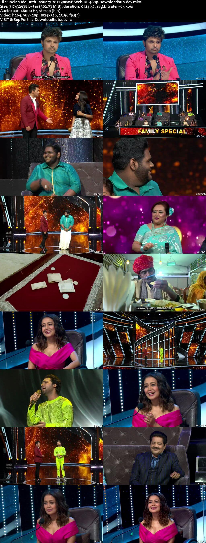 Indian Idol 10 January 2021 Episode 14 Web-DL 480p