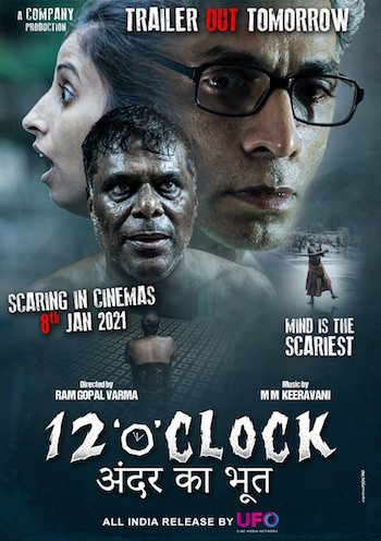 12 O Clock (2021) Hindi 480p pDVDRip 300mb