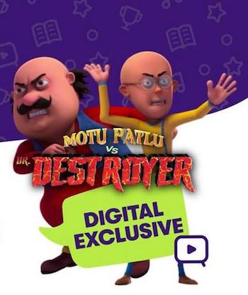 Motu Patlu vs Dr Destroyer 2021 Full Hindi Movie 720p HDRip Download