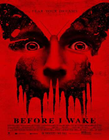 Before I Wake 2016 Hindi Dual Audio BRRip Full Movie Download