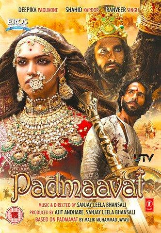 Padmaavat 2018 Hindi 480p BluRay x264 450MB ESubs