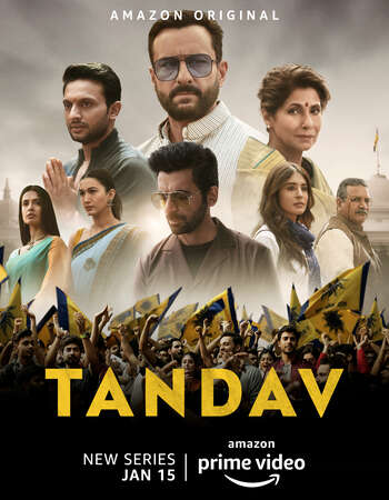 Tandav 2021 Hindi Season 01 Complete 720p HDRip MSubs