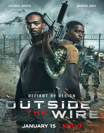 Outside the Wire 2021 Hindi Dual Audio 350MB Web-DL 480p MSubs