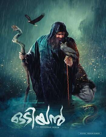 Odiyan 2018 Hindi Dual Audio 850MB UNCUT DVDRip 720p HEVC