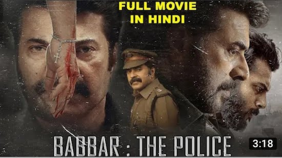 Babbar The Police 2021 Hindi Dubbed 480p HDRip 350MB