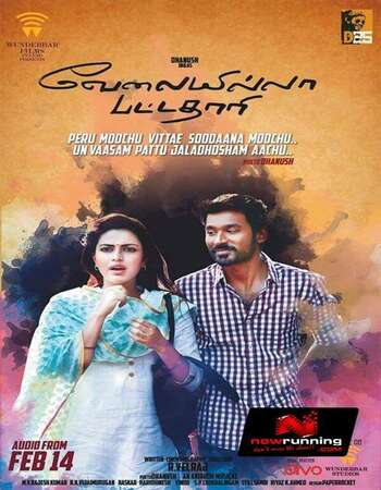 Velaiyilla Pattathari 2014 Hindi Dual Audio 700MB UNCUT HDRip 720p HEVC