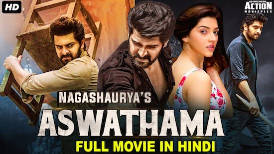 Aswathama 2021 Hindi Dubbed 720p HDRip 850mb