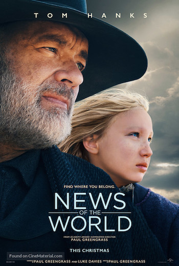 News of The World 2020 English 480p WEB-DL 300MB ESubs