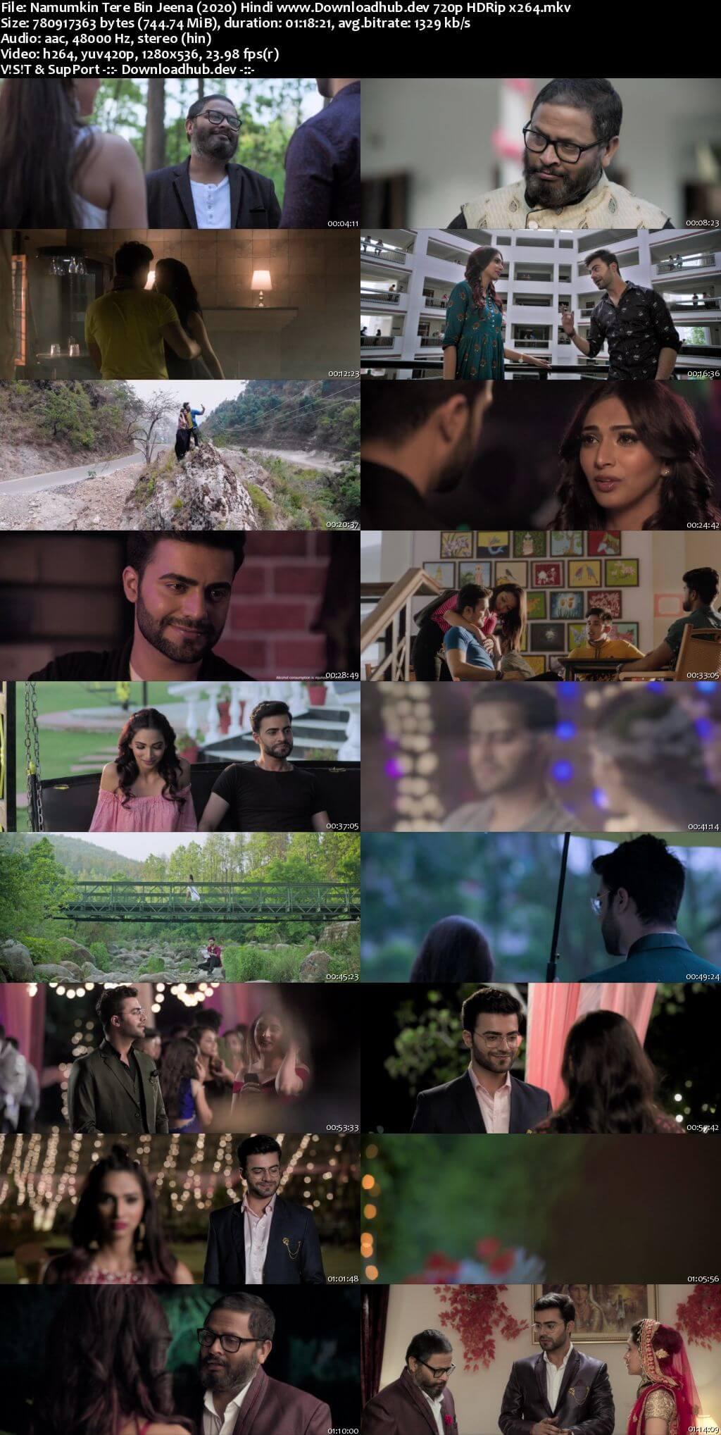 Namumkin Tere Bin Jeena 2020 Hindi 720p HDRip x264