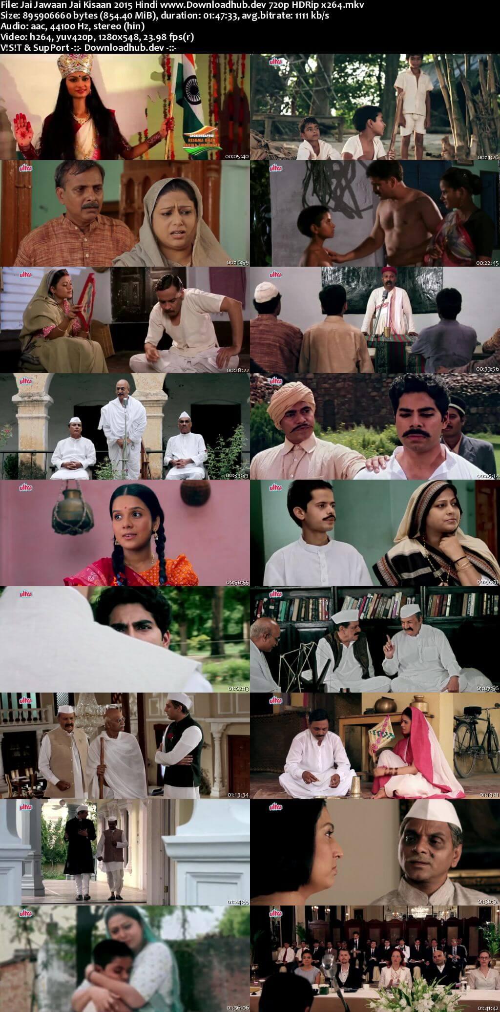 Jai Jawaan Jai Kisaan 2015 Hindi 720p HDRip x264