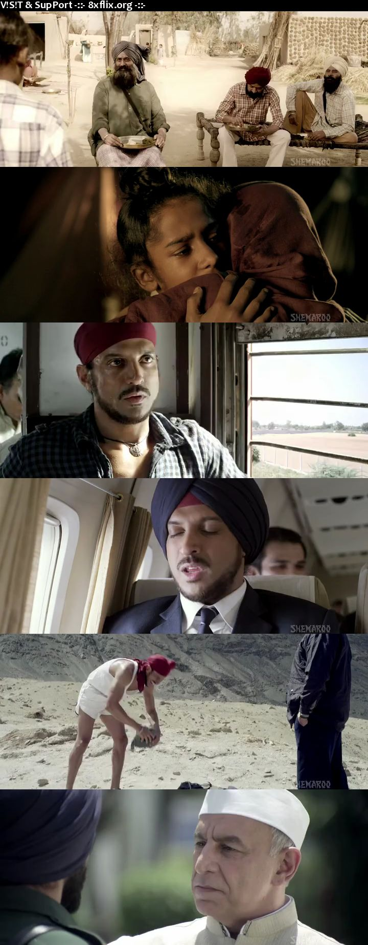 Bhaag Milkha Bhaag 2013 Hindi English Dual Audio 720p 480p BluRay