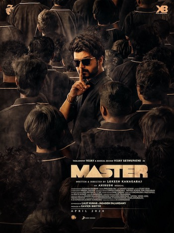 Vijay The Master 2021 Hindi Dubbed 480p HDRip 500MB