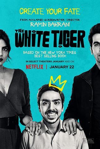 The White Tiger 2021 Netflix Hindi 480p HDRip x264 400MB MSubs