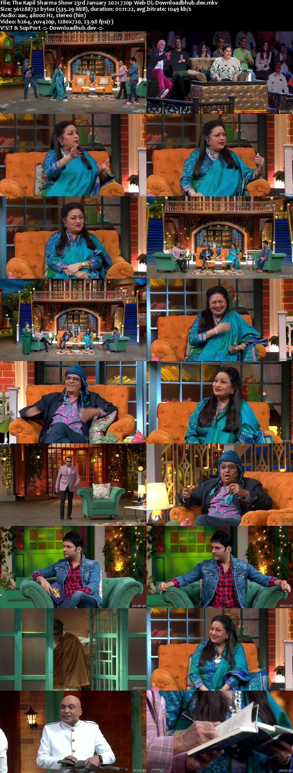 The Kapil Sharma Show 23 January 2021 Episode 177 Web-DL 720p 480p