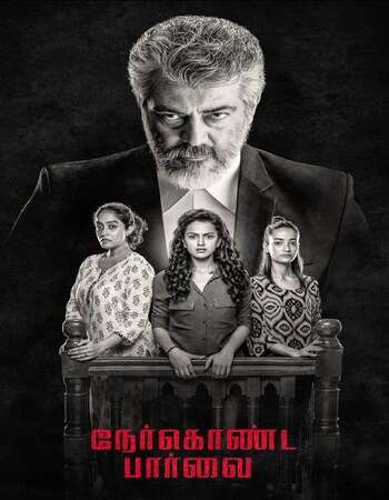 Nerkonda Paarvai 2019 Hindi Dual Audio 750MB UNCUT HDRip 720p ESubs HEVC