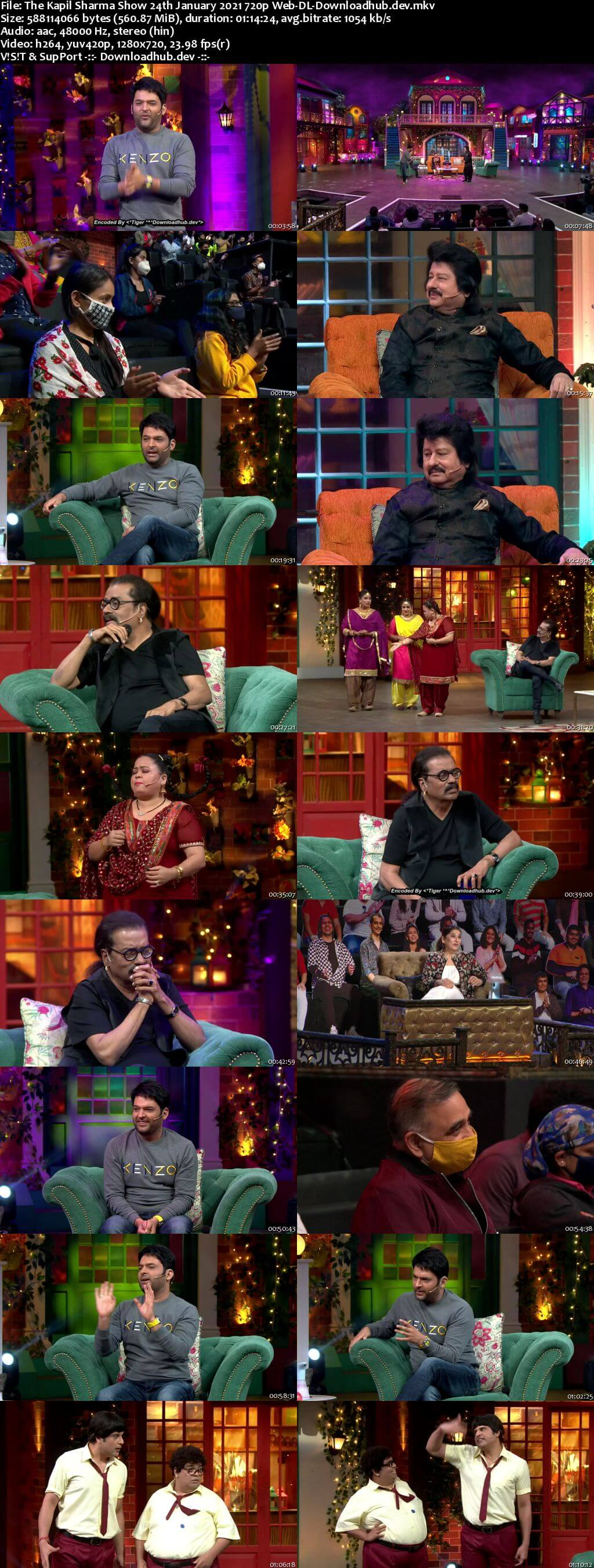The Kapil Sharma Show 24 January 2021 Episode 178 Web-DL 720p 480p