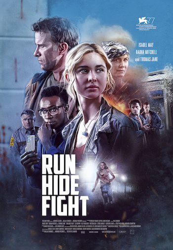 Run Hide Fight 2020 English 300MB Web-DL 480p ESubs