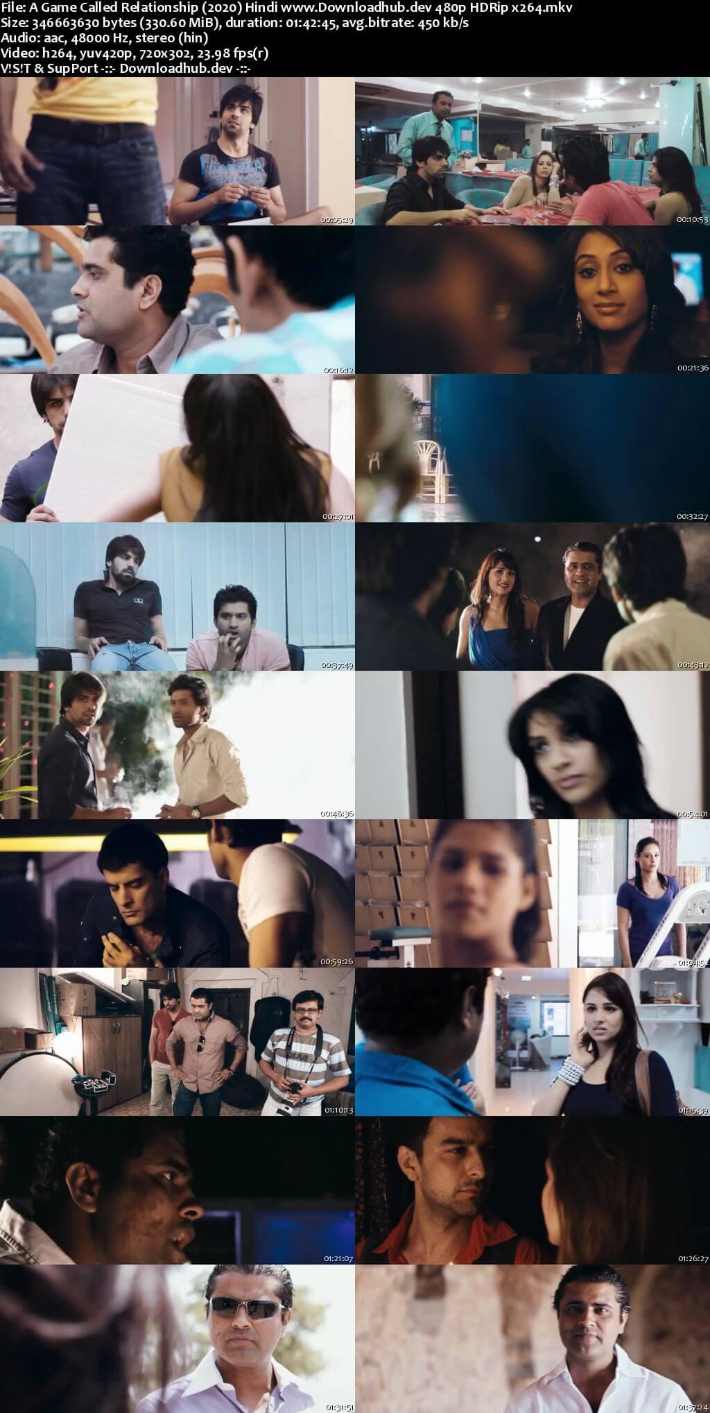 A Game Called Relationship 2020 Hindi 300MB HDRip 480p