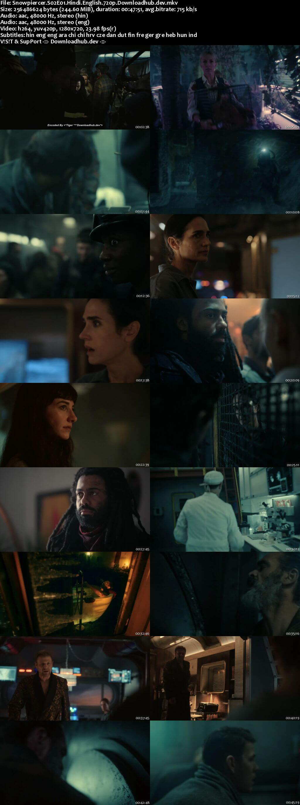 Snowpiercer 2021 S02 Complete Hindi Dual Audio 720p Web-DL MSubs