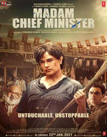 Madam Chief Minister 2021 Hindi 720p 480p Pre-DVDRip x264