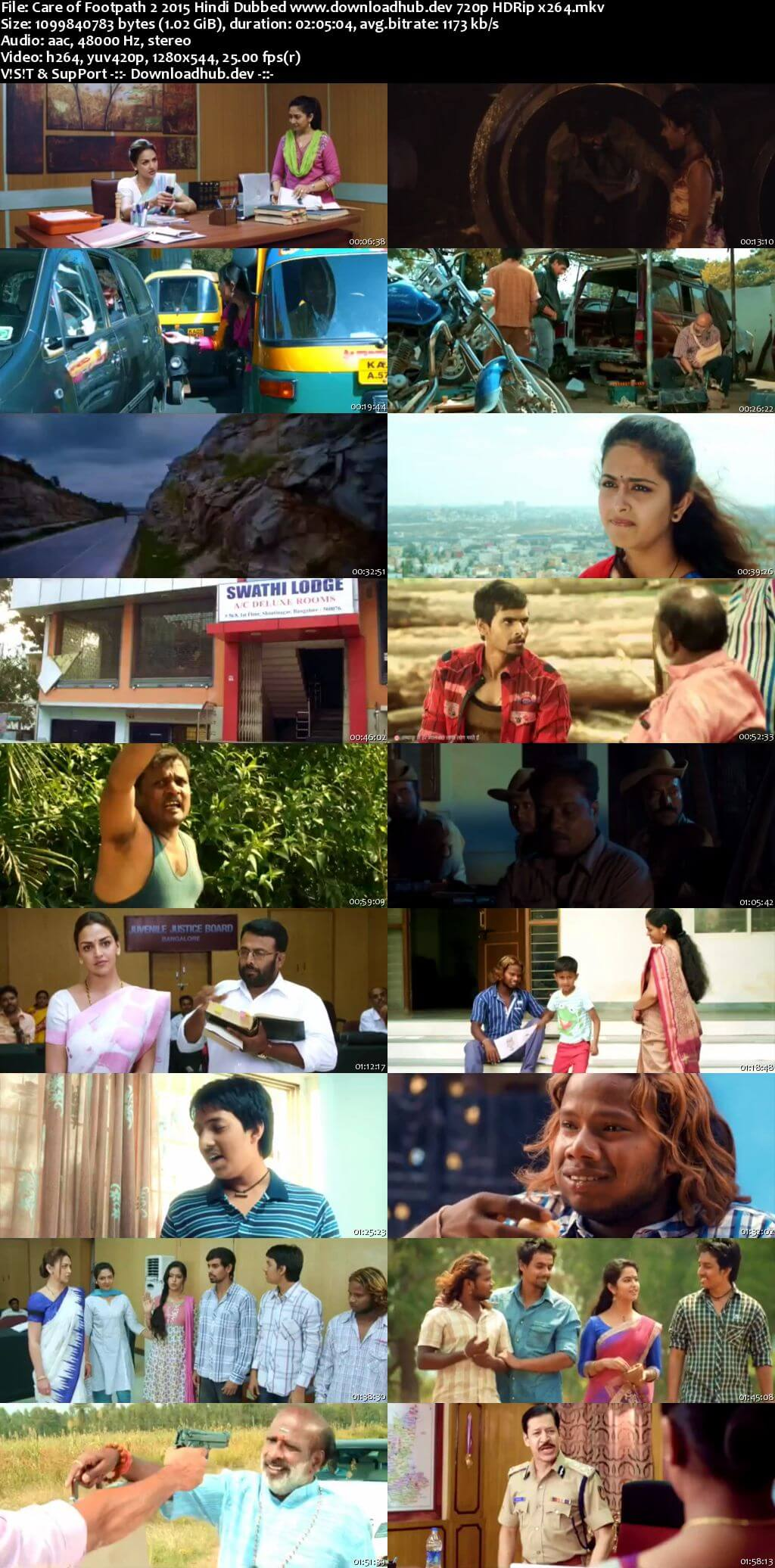 Care of Footpath 2 2015 Hindi Dubbed 720p SDTVRip x264