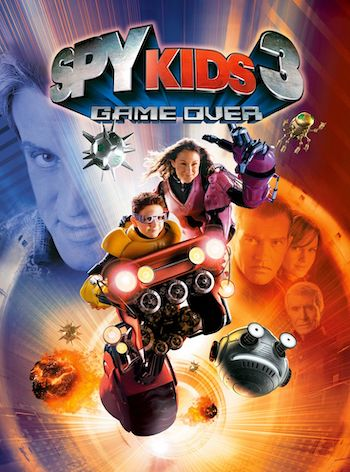 Spy Kids 3 Game Over 2003 Dual Audio Hindi English BRRip 720p 480p Movie Download